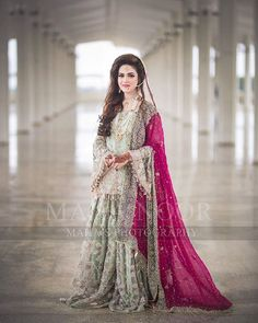 Buy Leading Designer Suits online perfect for Weddings and traditional occasions. Choose from our wide collection of Leading Designer Suits and ace the luxurious look at any party at affordable prices. Latest Bridal Dresses, Bridal Mehndi Dresses, Nikkah Dress, Shadi Dresses, Bridal Dress Design, Bridal Outfits, Bridal Dupatta, Bridal Style, Asian Wedding Dress Pakistani