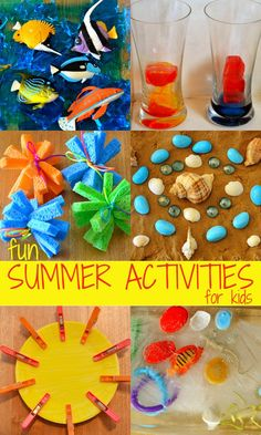 Yikes it's hot right now on the sunny side of the world! Luckily we have this fabulous collection of summer play ideas to keep us cool!