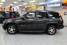 >>2003 Chevrolet TrailBlazer LT*4WD*NAV*LEATHER*POWER MOONROOF <<