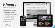 Free Download Premium Wordpress Themes, Plugins, Templates | FreeWPTools: Bloom – Responsive Theme by ThemeForest