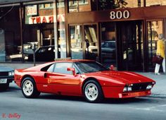 Ferrari 288 GTO (1984) - dat retro look.