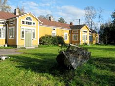 Not an actual holiday home, but a place to get together in Plassi, Kalajoki Finland #kalajoki #old houses #finnish style
