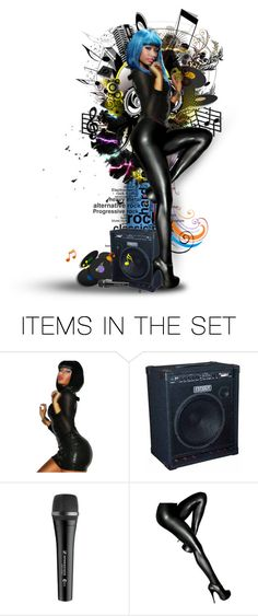 """Nicki Minaj - Super Bass"" by girlinthebigbox ❤ liked on Polyvore featuring art, NickiMinaj, singer, song, Songwriter and musician"