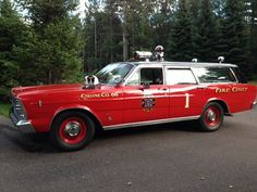 Station Wagon Fire Chiefs Cars |