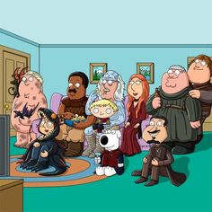 "78.7k Likes, 4,337 Comments - Peter Griffin (@peterpumpkineater69) on Instagram: ""Game of Thrones viewing party. #GoT #GameOfThrones #Hodor #coolfamily #coolfriends #nudescenes…"""