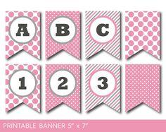 Free Printable Happy Birthday Banner Balloons Pinterest