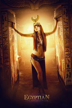 Egyptian Model : Loreleï Enchantress Photographer : Ness Edited by Ness Studio Photoshop CC - © Ness studio 2019