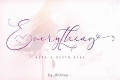 Buy Everything Calligraphy - Font by aldedesign on GraphicRiver. Everything Calligraphy is a stylish calligraphy font that features a varying baseline, smooth line, modern and with a. Handwritten Fonts, Calligraphy Fonts, Script Fonts, Typography Fonts, Modern Calligraphy, Typeface Font, Beautiful Calligraphy, Caligraphy, New Free Fonts