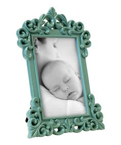 Seafoam Scroll 4'' X 6'' Frame