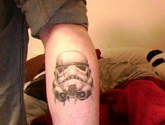 one of the best ones i've seen Star Wars Tattoo, Star Tattoos, Great Tattoos, New Tattoos, Tatoos, Hot Toddy, Stormtrooper Tattoo, Tattoo Designs, Tattoo Ideas