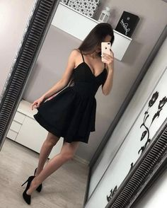 Elegant Dresses, Pretty Dresses, Beautiful Dresses, Cocktail Vestidos, Cocktail Dresses, Mode Swag, Cheap Homecoming Dresses, Fashion Weeks, Short Dresses