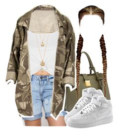 """""""Untitled #1333"""" by queen-tiller ❤ liked on Polyvore featuring Miu Miu, Topshop, NIKE and Forever 21"""