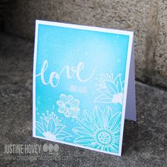 FREE Class: Distress Inks 101 - Just Add Water   Justine's Cardmaking
