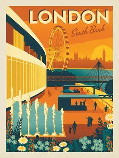 Anderson Design Group – World Travel – England: London's South Bank