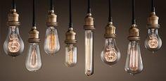 pretty vintage lightbulbs