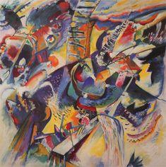 Wassily Kandinsky. Improvisation. Gorge, 1914