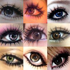 Doll Eye Makeup, J Makeup, Gyaru Makeup, Punk Makeup, Girls Makeup, Pretty Makeup, Makeup Inspo, Makeup Cosmetics, Makeup Inspiration