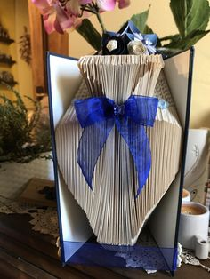 book folded a perfect gift for your mum check in my etsy shop