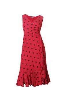 Ruffle Spot Dress - Max