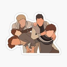 One Direction Merch, One Direction Drawings, One Direction Pictures, Wallpaper One Direction, One Direction Lockscreen, Cool Stickers, Printable Stickers, Laptop Stickers, Imprimibles One Direction