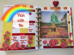 Plan With Me | Happy Planner | WIZARD OF OZ THEME