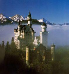 The Swan King's Castles: Neuschwanstein– Germany
