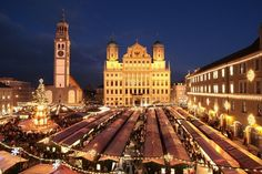 Augsburg Christmas Market Total ~ my birth city