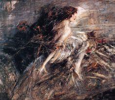 Giovanni Boldini, Ritratto della marchesa Luisa Casati Stampa, 1914