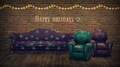 A humble holiday gift! This is my first foray into... - yakum's sims 2 blog