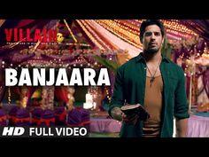 Banjaara Full Video Song | Ek Villain | Shraddha Kapoor, Siddharth Malhotra - YouTube
