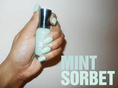 Mint Nails my favorite mint