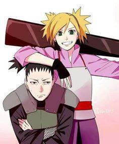 Shikamaru and Tamari #Naruto