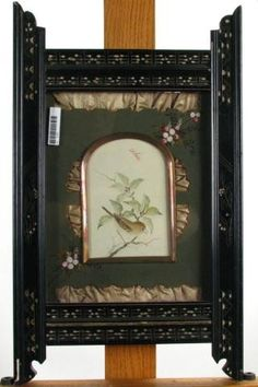Aesthetic Movement Framed Bird Print