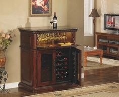 The Rutherford Refrigerated Wine Cabinet