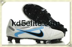 Nike CTR360 Maestri II Elite FG Summit White Chlorine Blue Metallic Silver  Black Nike Elite Soccer Cleats 24b2e7e0d532