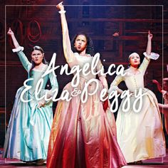 """meow-ha:   Angelica, Eliza & Peggy -""""Song sung about/by..."""