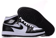 new concept e8e7b 92bdd air jordan 1 retro black and white,Nike Air Jordan 1 Retro Shoes 09 Black  White men online