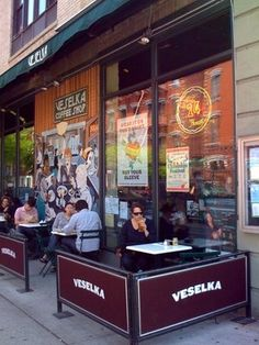 Veselka - 144 2nd Ave (between St Marks Pl & 9th St), New York, NY 10003 (Neighbourhood: East Village)