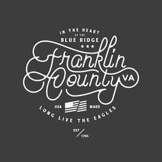 #design #illustration #vector #younglife #franco #franklincounty #type #typography #custom #script  #new by goodlanddesign