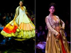 WeddingSutra Editor's Blog » Blog Archive » Manish Malhotra shows garments of ultimate beauty and style