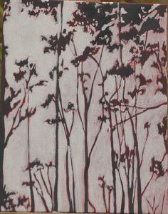 Leila Gaillard - peinture - arbre