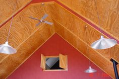 Ply groove ceiling