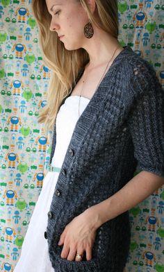 pontos cardigan knitting pattern
