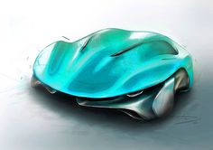 Automotive exterior/interior sketches design exploration