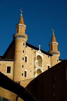 The Ducal Palace, Urbino, Marche, Italy