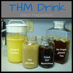 Summer Drinks (batch prep)