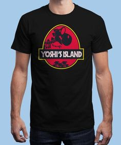 """Yoshi Park"" is today's £8/€10/$12 tee for 24 hours only on www.Qwertee.com Pin this for a chance to win a FREE TEE this weekend. Follow us on pinterest.com/qwertee for a second! Thanks:)"