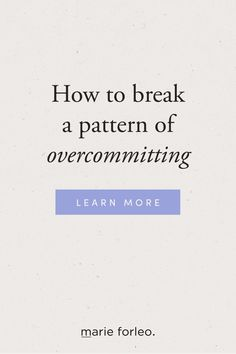 Need to gracefully back out of a commitment? Here's a simple script to help you say no without damaging your reputation. #howtosayno #breakacommittment #marieforleo Finding Motivation, I Know You Know, Marie Forleo, Stay Happy, Achieve Your Goals, Inspirational Videos, Staying Positive, Business Entrepreneur, Motivate Yourself
