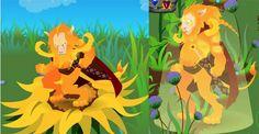 "Bonnie summoned Leo to her English Garden.    // ""Odd Manor"" live beta, player image."
