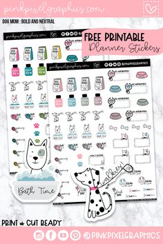 Free Monthly Planner